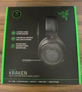 Razer Kraken Auriculares con almohadillas de Gel Refrescante-Negro RZ04-02830100-R3M1