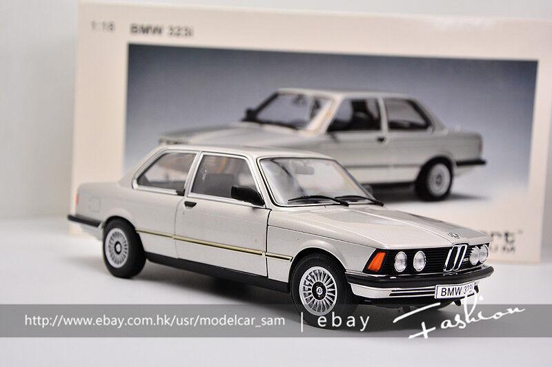 Autoart 1 18 BMW 323i E21 Plateado