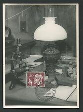 BERLIN MK 1960 191 ROBERT KOCH BIOLOGE MAXIMUMKARTE MAXIMUM CARD MC CM d1564