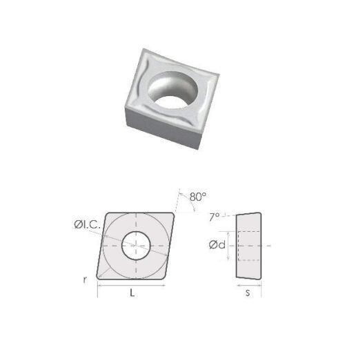 6054-0221 CCGX 32.51  LH CARBIDE INSERT FOR ALUMINUM