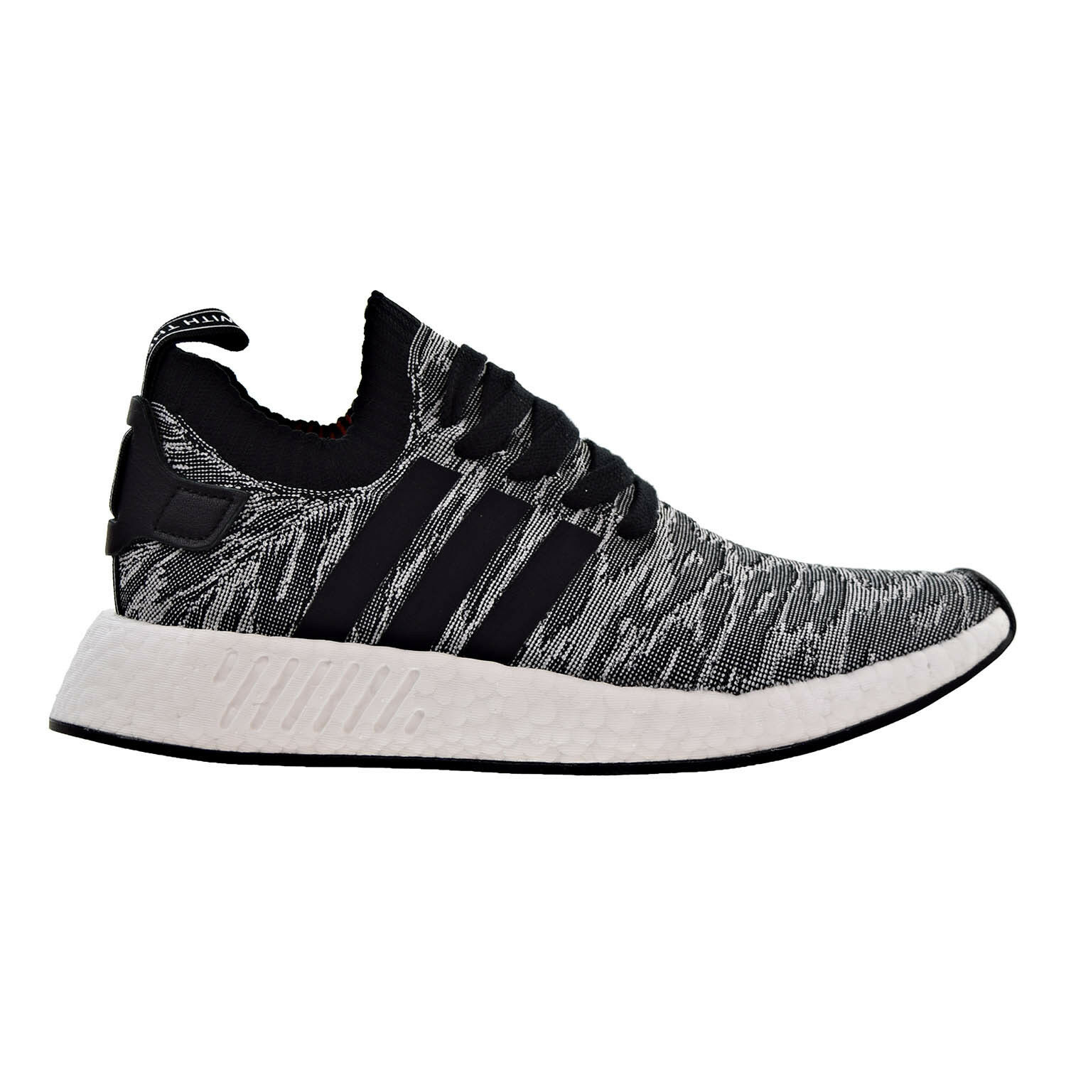 Adidas nmd_r2 primeknit hombres zapatos by9409 negro / blanco running by9409 zapatos Core d2066f