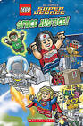 LEGO DC Superheroes: Space Justice! by Scholastic (Hardback, 2015)