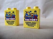 LEGOLAND DISCOVERY CENTRE LEGO PROMO BRICK 4 X 2 DUPLO  NEW UNUSED FREE UK POST