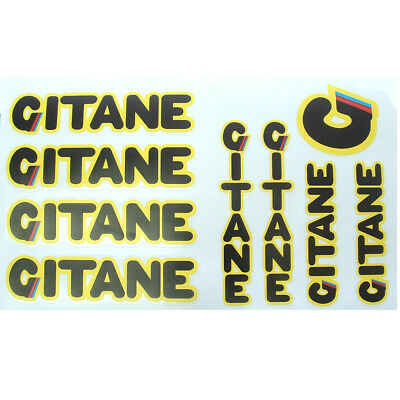 Gitane late 70s set of decals vintage Hinault