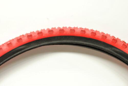 Kenda Mountain Bike Tire MTB Red//Black 26x1.95