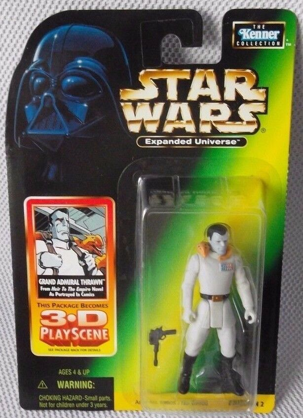 STAR WARS GRAND ADMIRAL THRAWN From  Heir To The Empire  Novel with 3D PlayScene