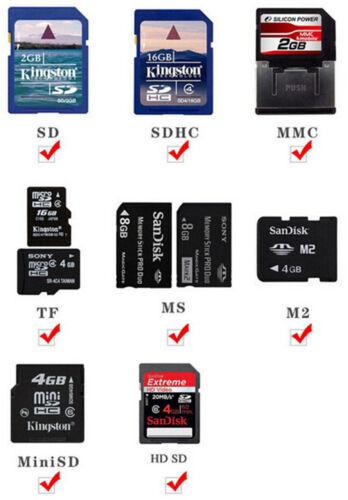 Fashion High Speed Mini USB 2.0 T Flash TF Micro SD Memory Card Reader Adapter