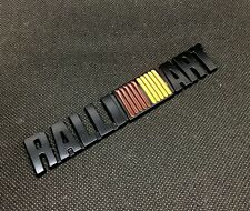 RalliArt 3D car Metal Emblem Refitting Badge Sticker Car Styling Auto Decor offr