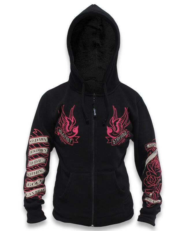 Liquor Brand Damen Stay Gold Kapuzenpullover/hoodies.biker,tattoo,pin Up Style