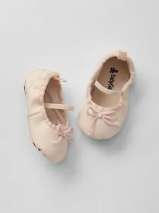 5bccc92d8 GAP Baby Girl Size 3-6 Months Light Pink Ballet Flats Mary Jane ...
