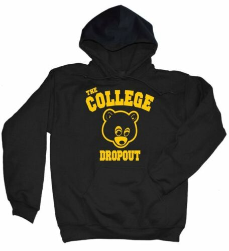 Kanye West The College Dropout Hoodie Yeezus Rap Good Music Crewneck TDE T Shirt