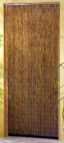 Vorhang Deko Vorhang Conacord Saigon Bambusstäbchen Länge 220cm