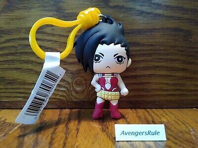 Series 2 Keychain Anime Key Chain My Hero Academia NEW Momo Yaoyorozu Clip