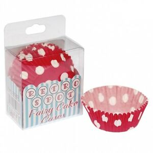Baking Cups & Liners Learned Bnib New 12 X 72 Blue Gingham Check Retro Fairy Cake Cases