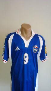 Image is loading VTG-YUGOSLAVIA-Retro-Football-Jersey-EURO-Trikot-Soccer- 8827d86c5