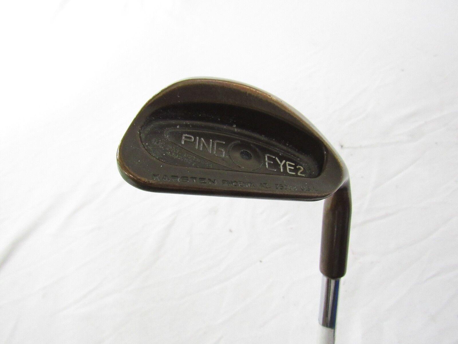 Utiliza la mano derecha Ping Eye 2 se Co (punto Negro) Arena S Cuña ZZ Lite Acero rígido de la flexión S