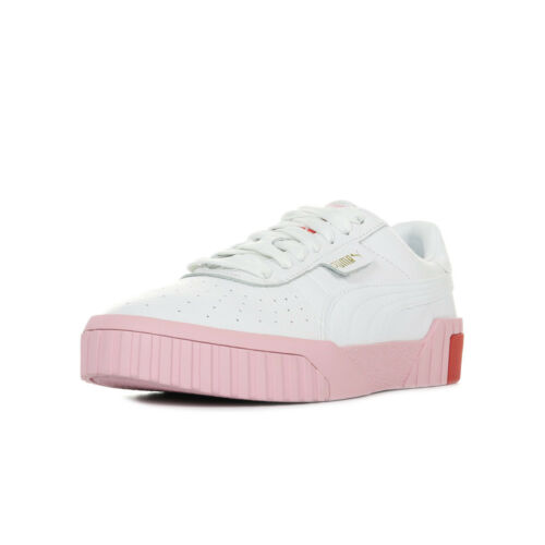 Cuir Cali Wn's Chaussures Pink Puma Baskets Taille Femme