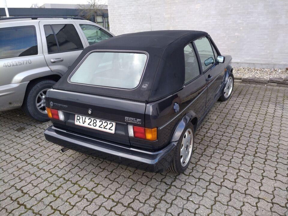 VW Golf III, 1,8 Cabriolet, Benzin
