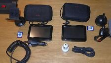 Lot of TWO GPS Nextar Q4 Automotive Mountable Complete Lot of 2 FREE S&H
