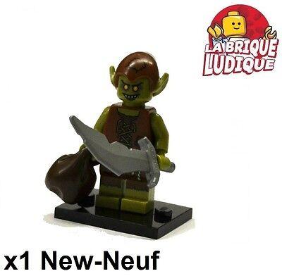 Figurine Minifig Minifigurine série 13 goblin lutin monstre NEUF Lego