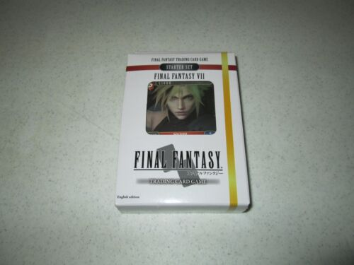 Final Fantasy TCG Starter Deck VII Fire and Earth FREE SHIPPING