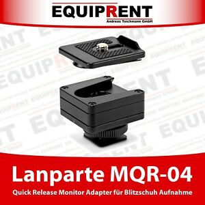 Krieton QRA-01 Quick Release Adapter mit 1//4 Zoll Gewinde für DSLR Zubehör EQ365