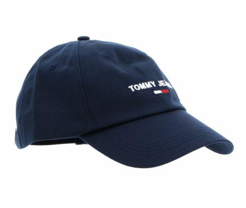 Tommy Hilfiger Jam Sport Cap Cap Accessoire Twilight Navy Bleu Nouveau