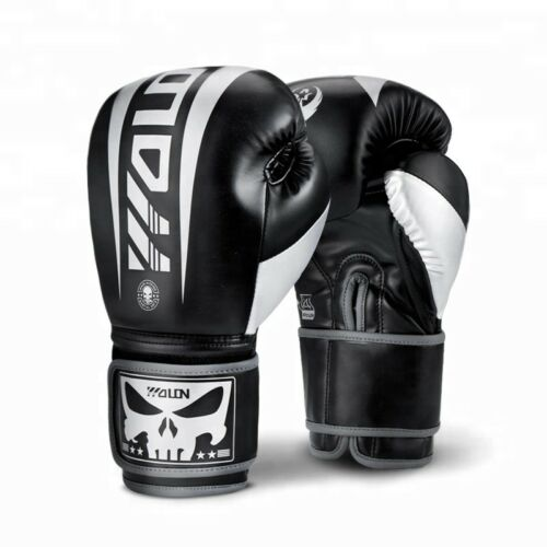 Wolon Punisher Boxing Glove PU Leather Muay Thai Training MMA Fight Sparring