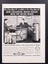 1937 Vintage Print Ad | 1930s Car Frigidaire Water Cooler