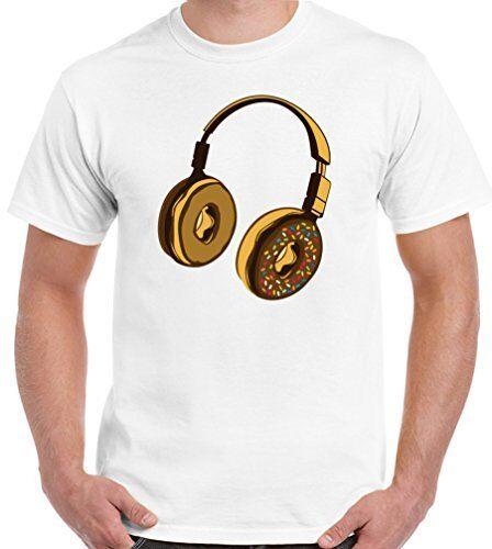 Donut casque-homme drôle t-shirt