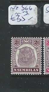 MALAYA NEGRI SEMBILAN (P1205B) TIGER 2C SG 6 MOG