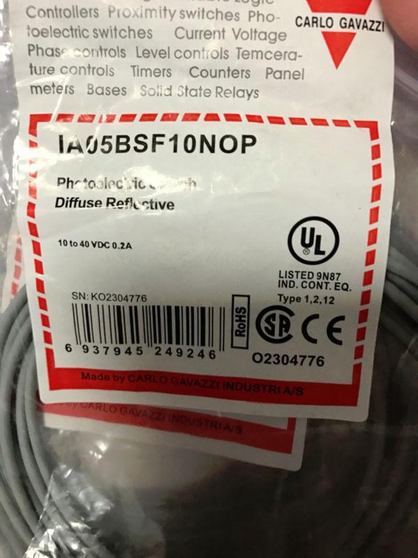 IA05BSF10NOP Gavazzi Proximity switch Carlo NEW IN BOX  C03