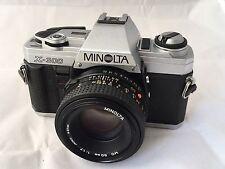 Minolta X-300 Film Camera & Minolta MD 50mm F1.7 Manual Focus Lens - Excellent