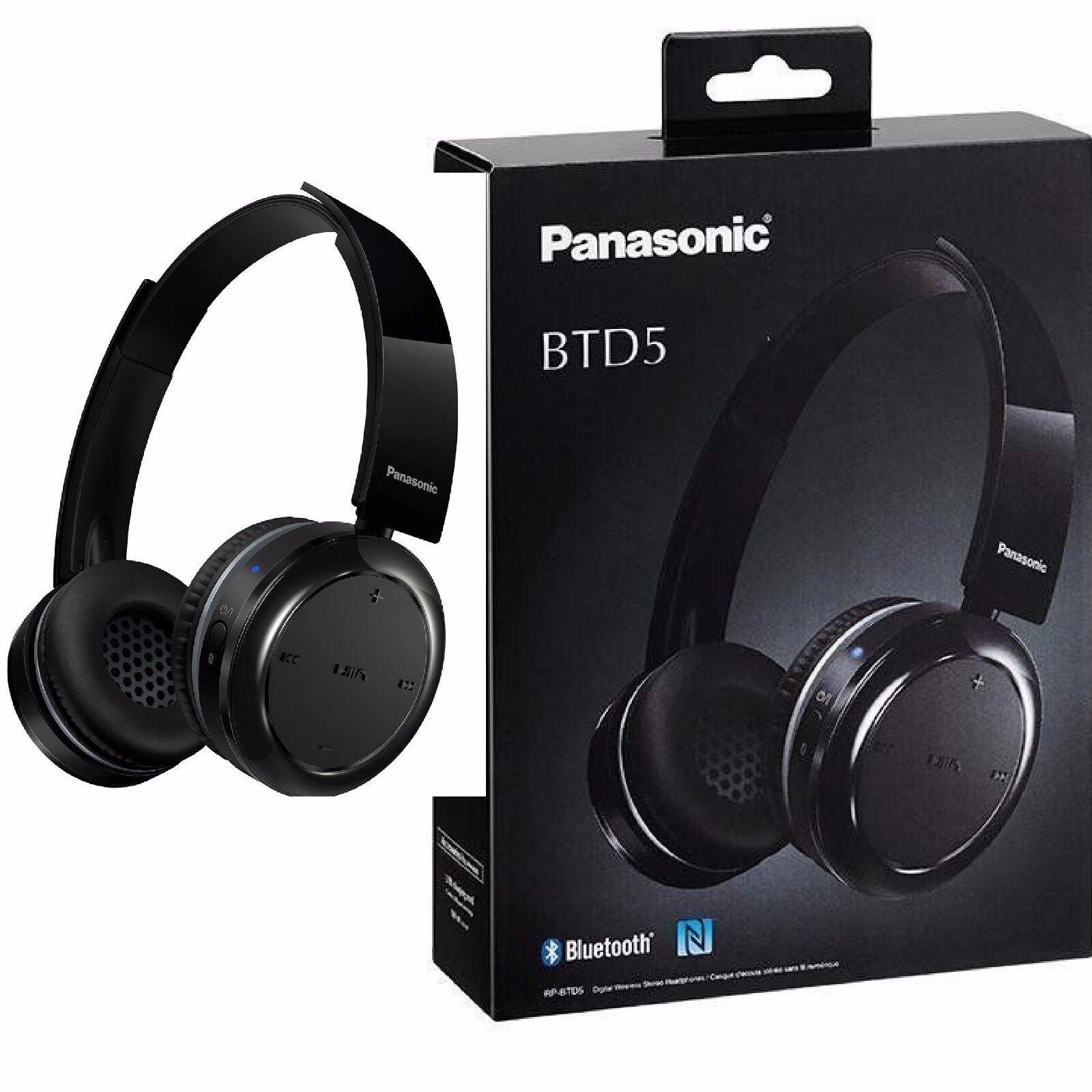 Panasonic RP-BTD5E-K bleutooth casque-Réponse en fréquence Boutons 18-20,0