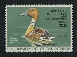 CKStamps-US-Federal-Duck-Stamps-Collection-Scott-RW53-7-50-Mint-NH-OG