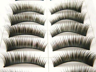 10 Pairs False Fake Eyelashes Lashes Full Make Up 1088 - Buy 2 Get 1 Free