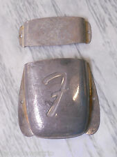 Fender Jazz Bass RELIC Bridge cover Pickup Cover set Aged Antique Old L@@K!!!!