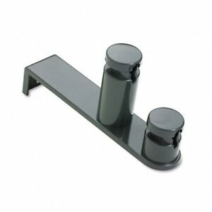 Eldon-24218-Over-The-Door-Double-Hook-Graphite-Gray-HANGER-HOOK