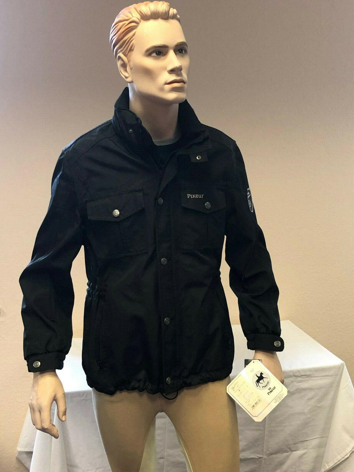 Señores reitjacke chaqueta Landro de Pikeur en negro