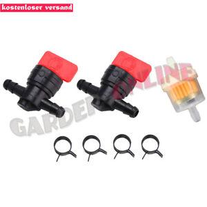 2x-Universal-robinet-d-039-essence-avec-Huile-Essence-Diesel-Pour-6-mm-tuyau-equipement-de-jardin
