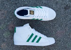 Adidas Pro Model Vulc Adv Core White Green Non Boost CG4274 FA Tyshawn Jones