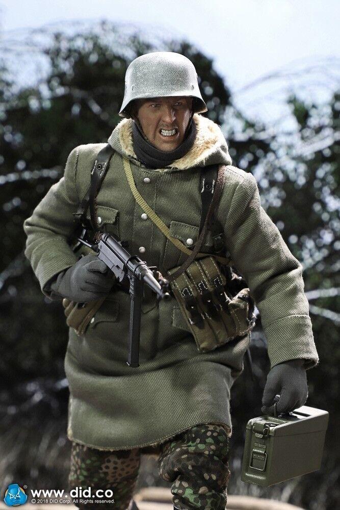 In magazzino 1 6 D80131  SECONDA GUERRA MONDIALE SS DID MASTER MG42Gun-FIGHTER EGON azione cifra  servizio di prima classe