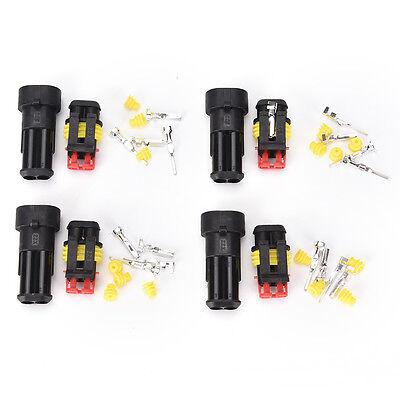 10 Sets 9 Pin wasserdichter elektrischer Draht Stecker Auto connnectors