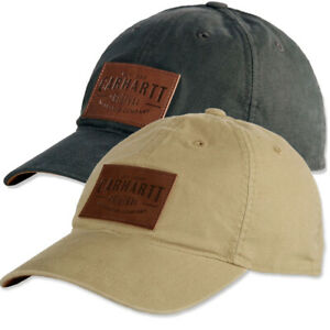 Carhartt-Mens-Rigby-Stretch-Fit-Leather-Patch-Baseball-Cap