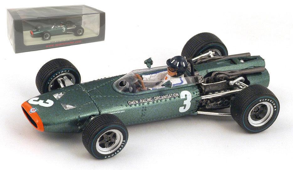 envío rápido en todo el mundo Spark Spark Spark s4253 Brm P62   3 Us Gp 1966-Graham Hill 1 43 Escala  alta calidad y envío rápido