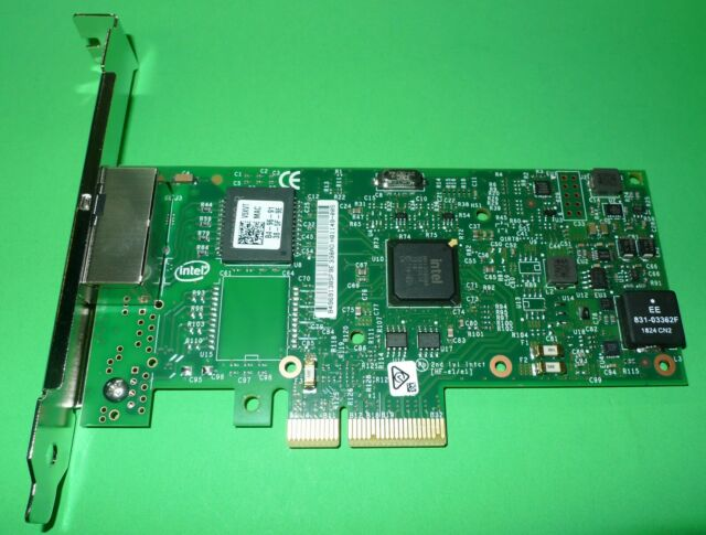 Dell Intel i350 Dual Port 1GB 100BASE-T Ethernet Network Card Full Height V5XVT