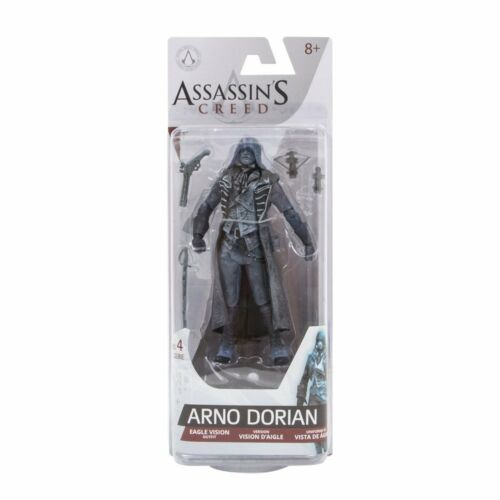 ASSASSIN/'S CREED-SERIE 4-Arno Dorian Eagle VISION Vestito Figura 17 cm