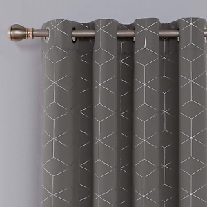 Deconovo-Diamond-Foil-Printed-Eyelet-Curtains-Blackout-Thermal-Insulated-for-W46