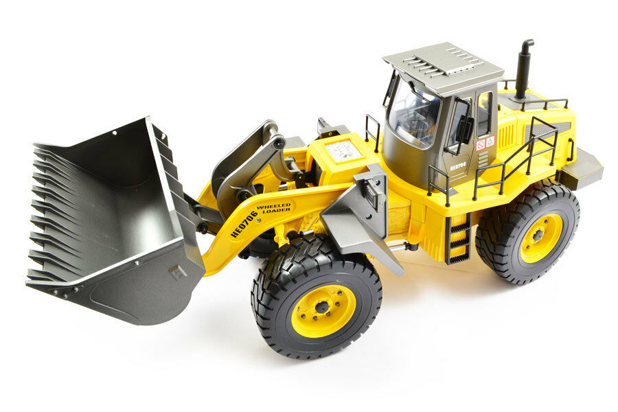 Large Scale RC Wheeled Loader, Upgraded Premium Label Version - Hobby Engine