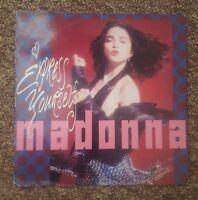 """Madonna rare express yourself uk 7"""""""